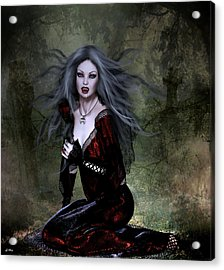Bloody Valentine Acrylic Print by G Berry