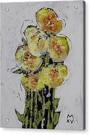 Bloom No. 2  Acrylic Print by Mark M  Mellon