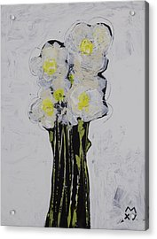 Bloom No. 4 Acrylic Print by Mark M  Mellon