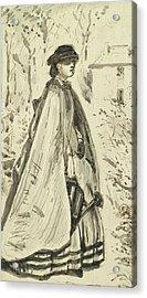 Blooms Fairer Than The Rose Acrylic Print by John Everett Millais