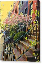 Blooms Of New York Acrylic Print