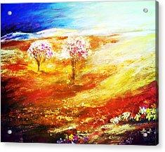 Blossom Dawn Acrylic Print
