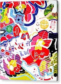 Blossoms Acrylic Print by Barron Holland
