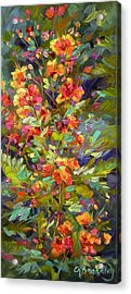 Blossoms Of Hope Acrylic Print by Chris Brandley
