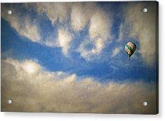 Blown Into A Soft Sky Acrylic Print