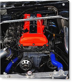Blown Nissan Acrylic Print