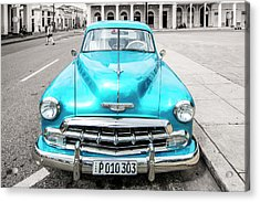 Acrylic Print featuring the photograph Blue 52 by Lou Novick