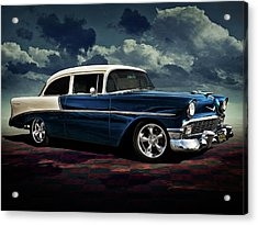 Blue '56 Acrylic Print by Douglas Pittman