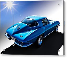Blue '67  Acrylic Print by Douglas Pittman