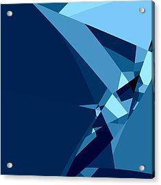 Blue Abstract 1 Acrylic Print
