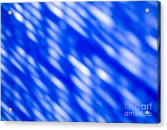 Blue Abstract 1 Acrylic Print