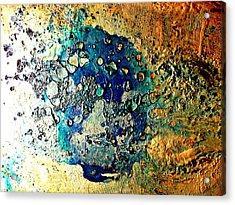 Blue Abstract Acrylic Print