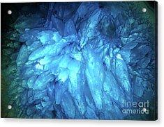 Blue Agate Acrylic Print by Nicholas Burningham