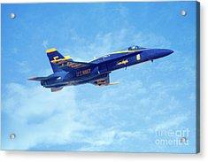 Blue Angel #5 In Arizona Acrylic Print