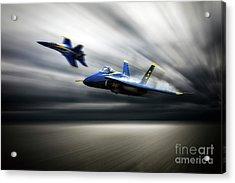Blue Angel 5 Acrylic Print