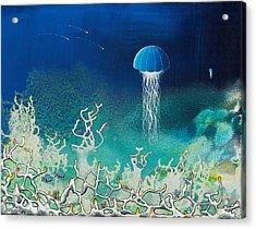 Blue Angels Acrylic Print by Lee Pantas