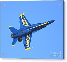Blue Angels No.4 Acrylic Print by Wingsdomain Art and Photography