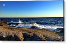 Blue Atlantic Acrylic Print
