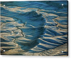 Acrylic Print featuring the photograph Blue Badlands by Johnny Adolphson