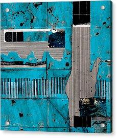 Blue Bag Ditty  Acrylic Print