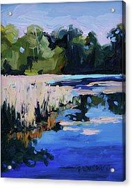 Blue Bayou Acrylic Print by Barbara Jones