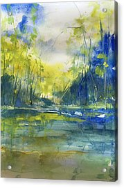 Blue Bayou Acrylic Print by Robin Miller-Bookhout