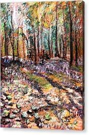 Blue Bell Woods Acrylic Print