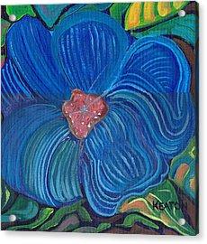 Blue Blilliance Acrylic Print by John Keaton