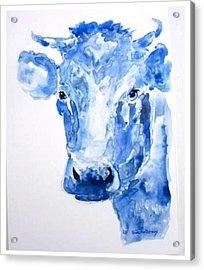 Blue Bonnet  Acrylic Print by Sue Prideaux
