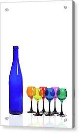 Blue Bottle #2429 Acrylic Print