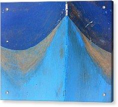 Blue Bow Acrylic Print