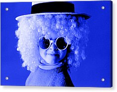 Blue Boy  Acrylic Print by Daniel D Miller