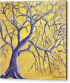 Branches Of Blue Acrylic Print