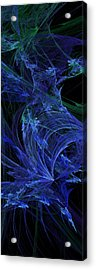 Blue Breeze Acrylic Print by Andee Design