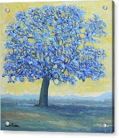 Blue Breeze Acrylic Print