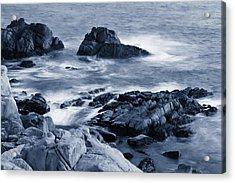Blue Carmel Acrylic Print