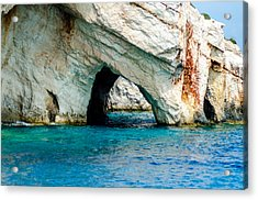 Blue Cave 4 Acrylic Print