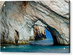 Blue Caves 1 Acrylic Print