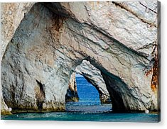 Blue Caves 2 Acrylic Print