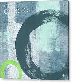 Blue Circles 2- Art By Linda Woods Acrylic Print