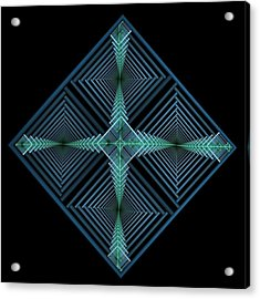 Blue Diamond Acrylic Print