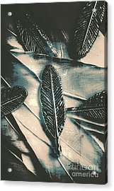 Blue Divergence Acrylic Print