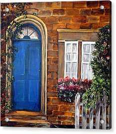 Blue Door 2 Acrylic Print
