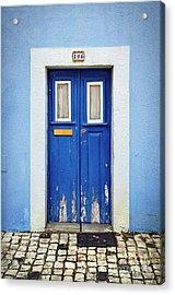 Blue Door Acrylic Print by Carlos Caetano