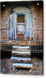 Blue Door Of Riley Acrylic Print