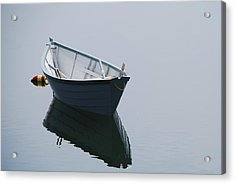 Blue Dory Acrylic Print by Lee Yeomans