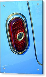 Acrylic Print featuring the photograph Blue Dot Taillight by Lynn Bawden