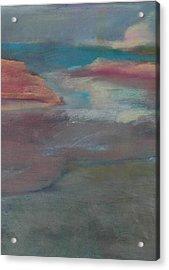 Blue Dune Acrylic Print