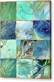 Blue Earth Acrylic Print