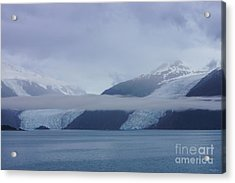 Blue Escape In Alaska Acrylic Print